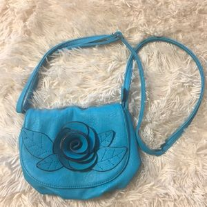 Teal Mini Purse